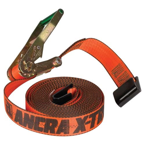 "X-TREME Ratchet Strap w/Flat Hooks - 2"" Wide (02672)"