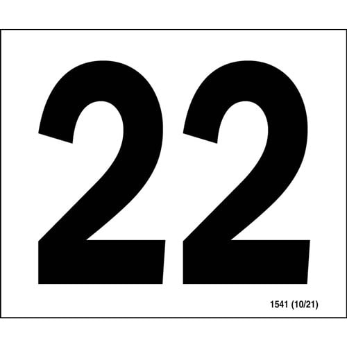 """20"" Annual Inspection Label (00308)"