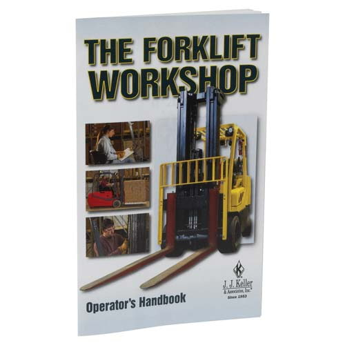 The Forklift Workshop - Operator's Handbook (03683)