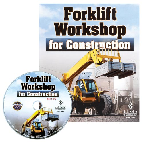 Forklift Workshop for Construction - DVD Training (04535)