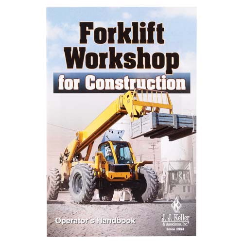 The Forklift Workshop for Construction - Operator's Handbook (04539)