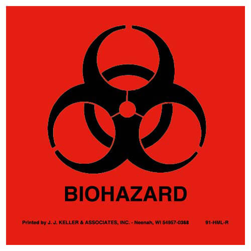 BioHazard Package Marking (01631)