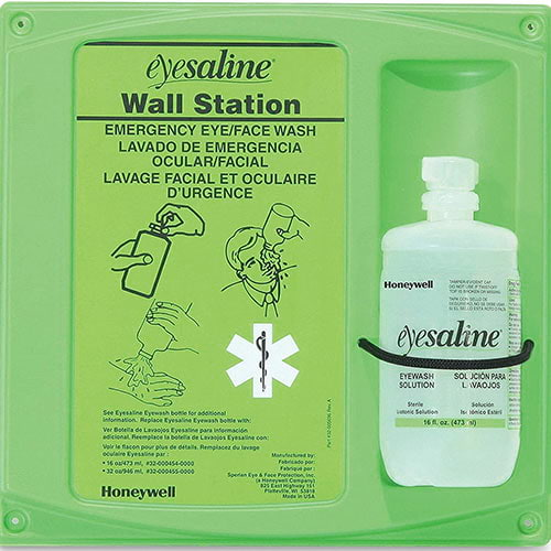 Sperian Saline Wall Station - 16 oz. (04880)