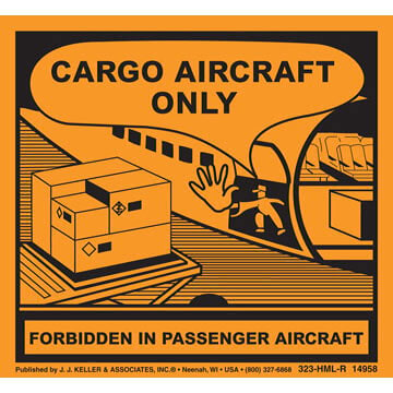 Aircraft Package Marking - Poly (05269)