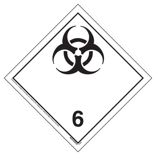 International Division 6.2 Infectious Substances - Wordless (05866)