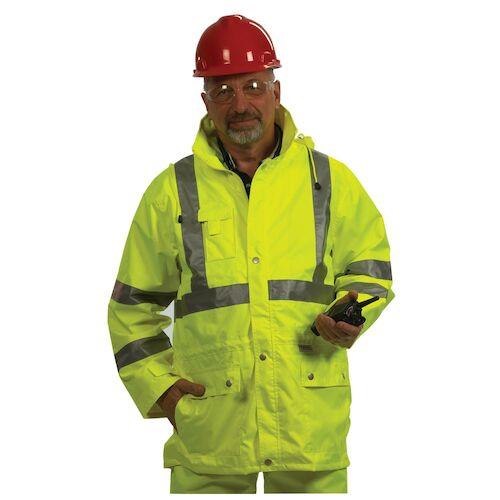 GloWear® Type R Class 3 Safety Rain Jacket (06632)
