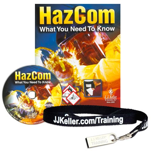 HazCom: What You Need To Know with GHS - DVD Training (06491)