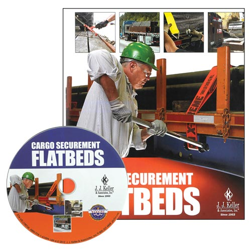 Cargo Securement FLATBEDS - DVD Training Program (06496)