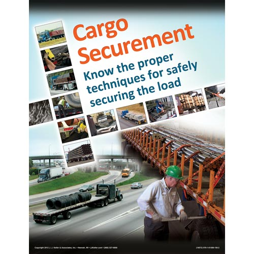 Cargo Securement FLATBEDS Training Program - Awareness Poster (06499)