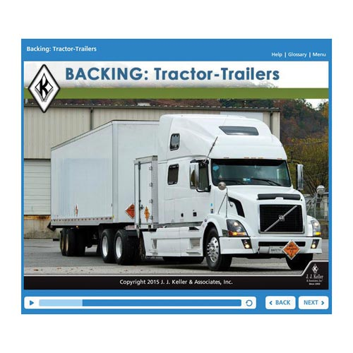 Backing: Tractor-Trailers - Online Training Course (06707)