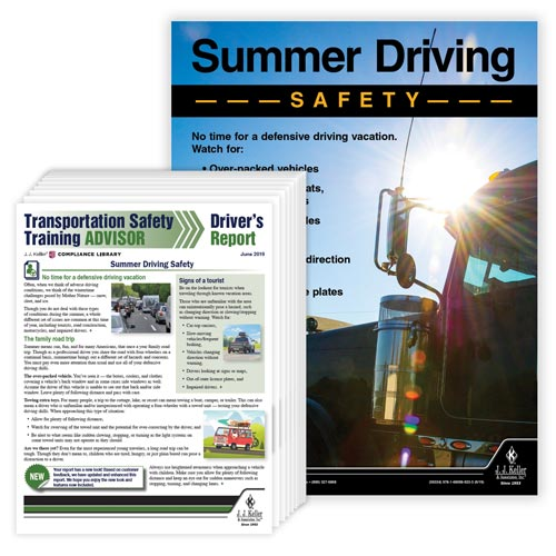 Driver Awareness Report & Poster Service (01342)