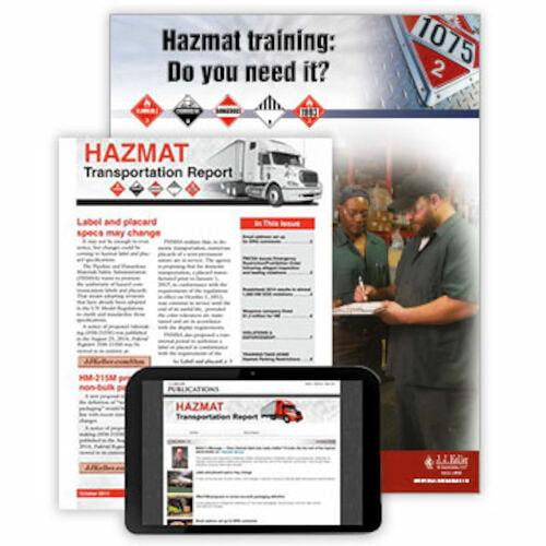 HAZMAT Transportation Report (00006)