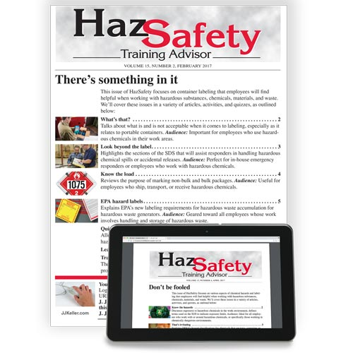 HazSafety Training Advisor (00515)