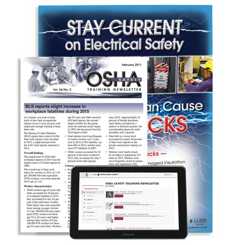 OSHA Safety Training Newsletter (02791)