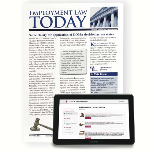 Employment Law Today (00688)