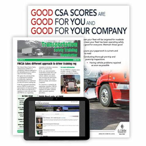 Transportation Safety Training Newsletter (02792)