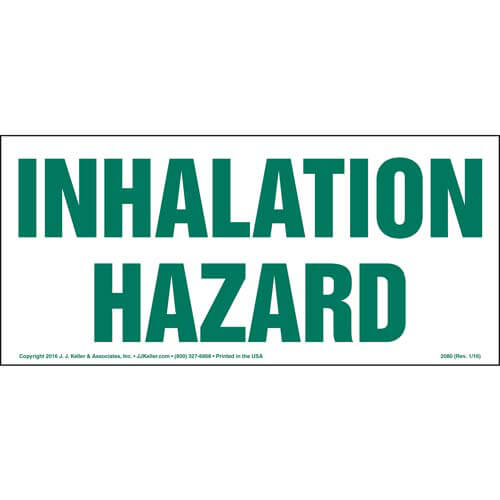 Inhalation Hazard Sign (01767)