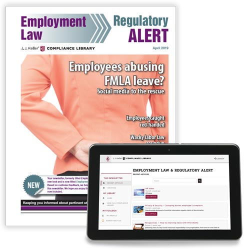 Employment Law & Regulatory Alert Newsletter (00688)