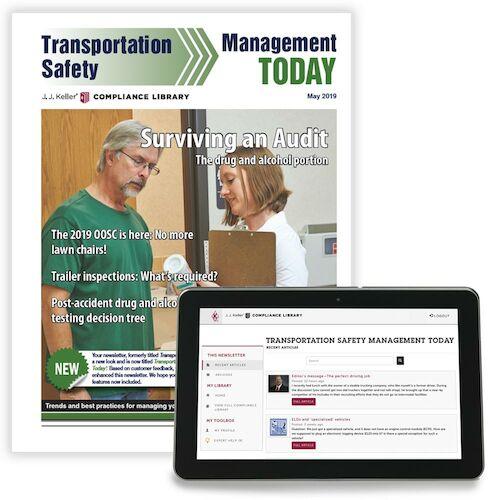 Transportation Safety Management Today Newsletter (00036)
