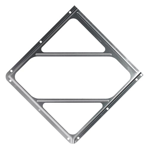 Aluminum Placard Holder Without Back Plate (02386)