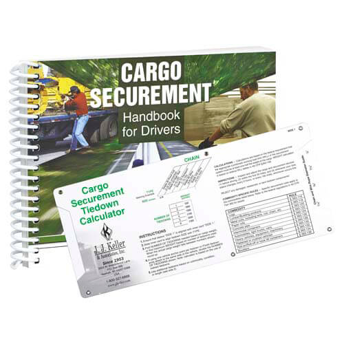 Cargo Securement Handbook for Drivers & Sliding Calculator Set (05100)