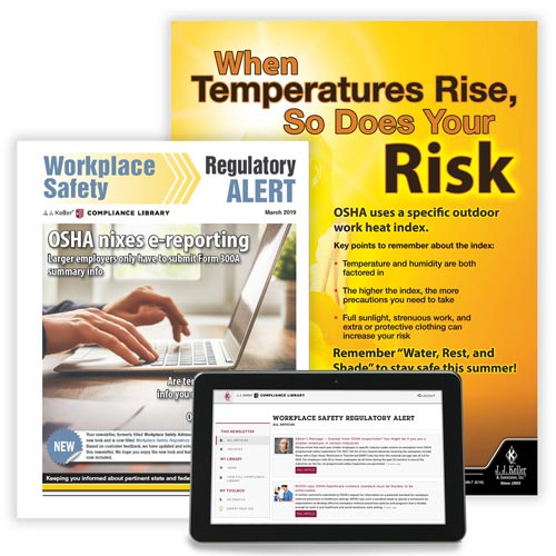 Workplace Safety Regulatory Alert Newsletter (00015)