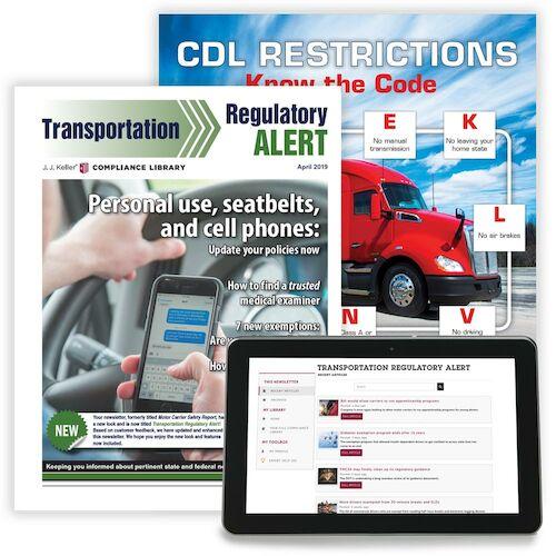 Transportation Regulatory Alert Newsletter (02793)