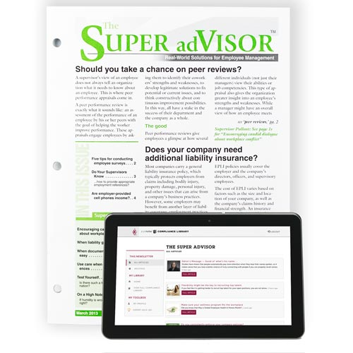 The SUPER adVISOR: Real World Solutions for Employee Management and Supervisor Success (00165)