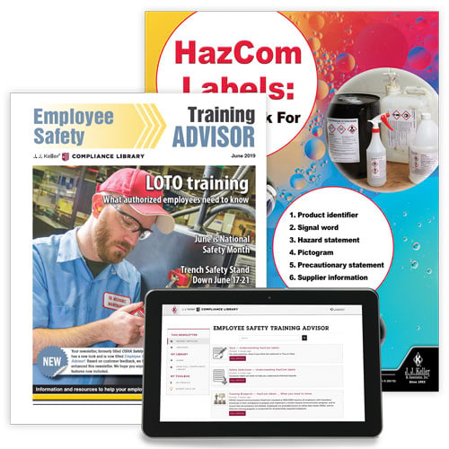 Employee Safety Training Advisor Newsletter (02791)