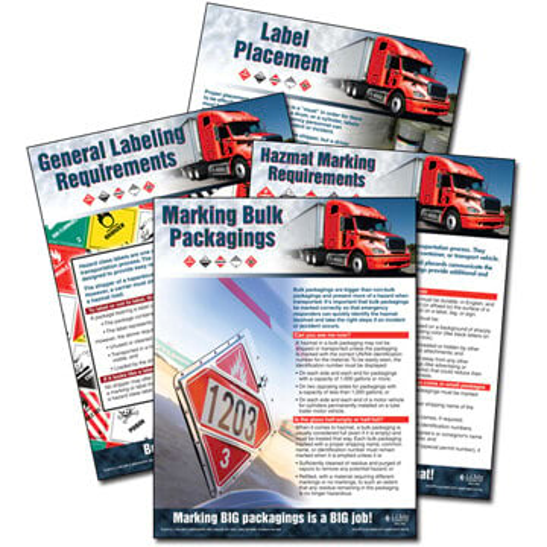 Hazmat Transportation Poster Service (04872)