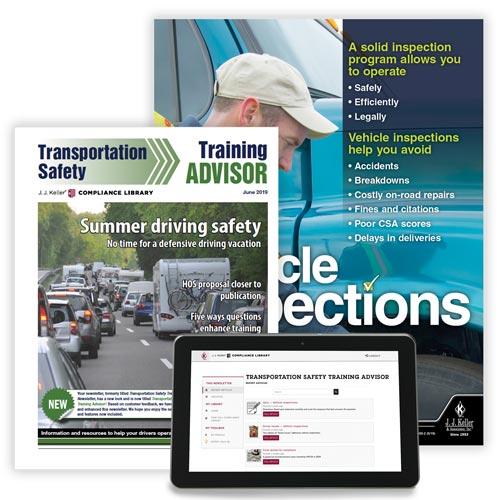 Transportation Safety Training Advisor Newsletter (02792)
