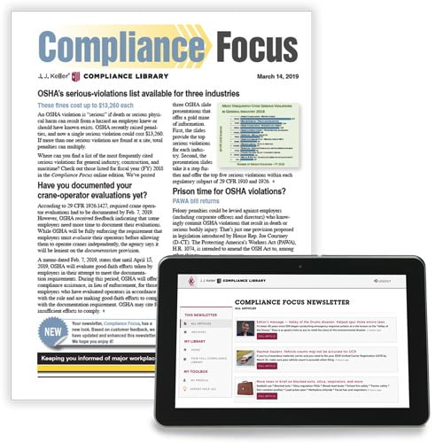 Compliance Focus Newsletter (00009)