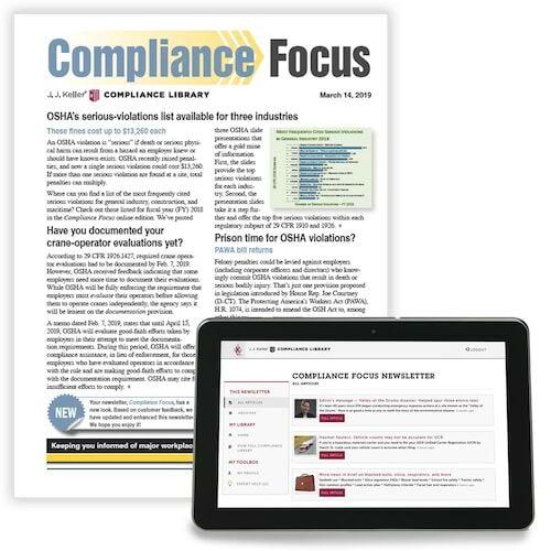 Compliance Focus Newsletter (00009)