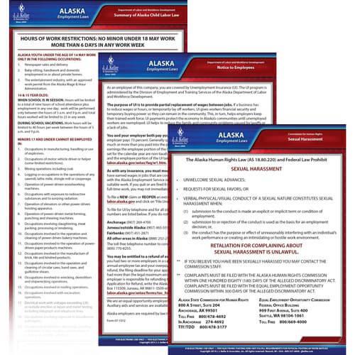Alaska & Federal Electronic Labor Law Poster Management Service (00590)