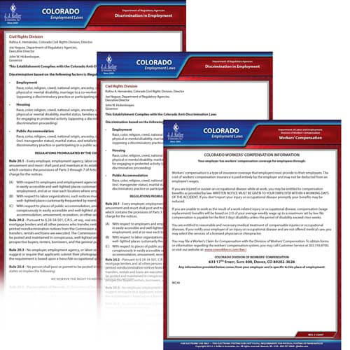 Colorado & Federal Electronic Labor Law Poster Management Service (00592)