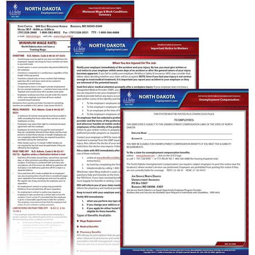 North Dakota & Federal Electronic Labor Law Poster Management Service (00602)