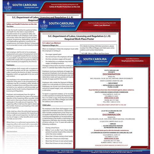 South Carolina & Federal Electronic Labor Law Poster Management Service (00606)