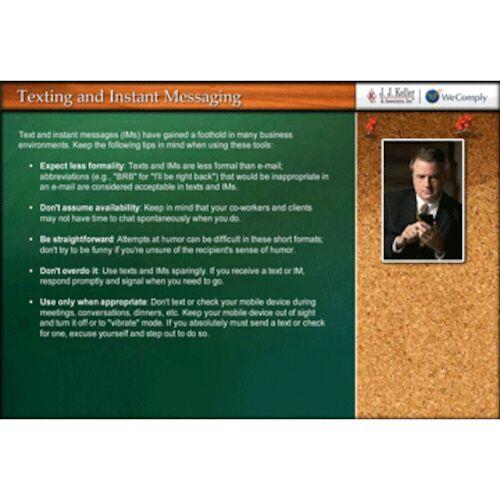 Business Etiquette - Online Training Course (06421)