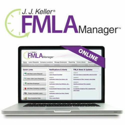 J  J  Keller® FMLA Manager™ Service