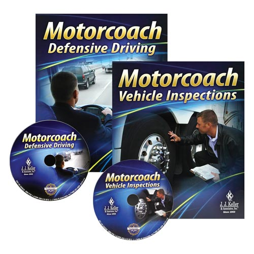 Motorcoach Driver Training 2-Pack - DVD Training (06902)