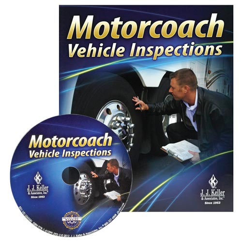 Motorcoach Vehicle Inspections - DVD Training (06903)