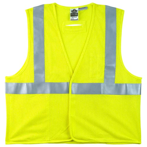 GloWear® Type R Class 2 Flame-Resistant Modacrylic Mesh Safety Vest (07105)