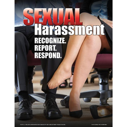 Sexual Harassment: Training for Supervisors and Employees - Awareness Poster (07174)