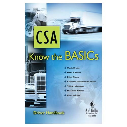 CSA: Know the BASICs - Driver Handbook (07185)