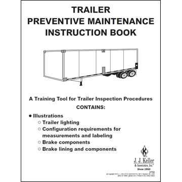 Trailer Preventive Maintenance Inspection Instruction Book