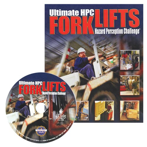 Forklift Hazard Perception Challenge - DVD Training (07263)