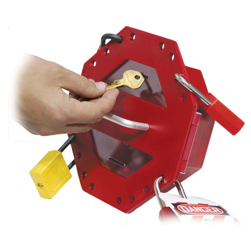 STOPOUT® Look 'n Stop Compact Group Lock Box (07388)