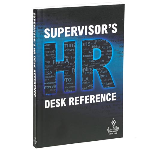 Supervisor's HR Desk Reference (07841)