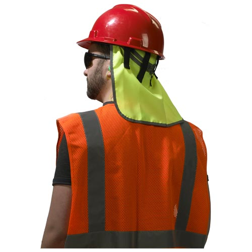 e76761f02 GloWear® Hi-Vis Hard Hat Neck Shade