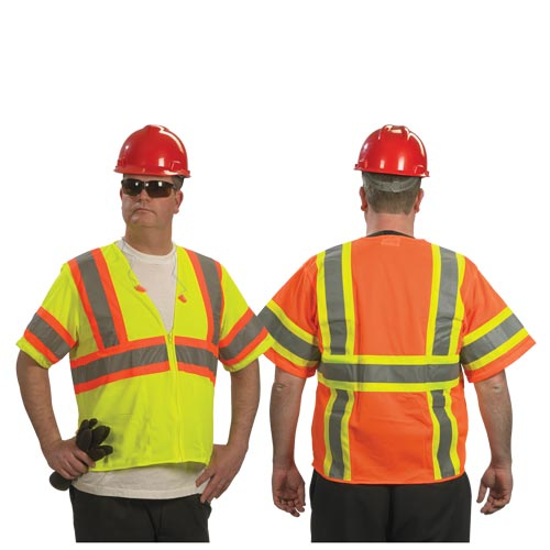 Type R Class 3 Two-Tone Safety Vest by PIP (07357)